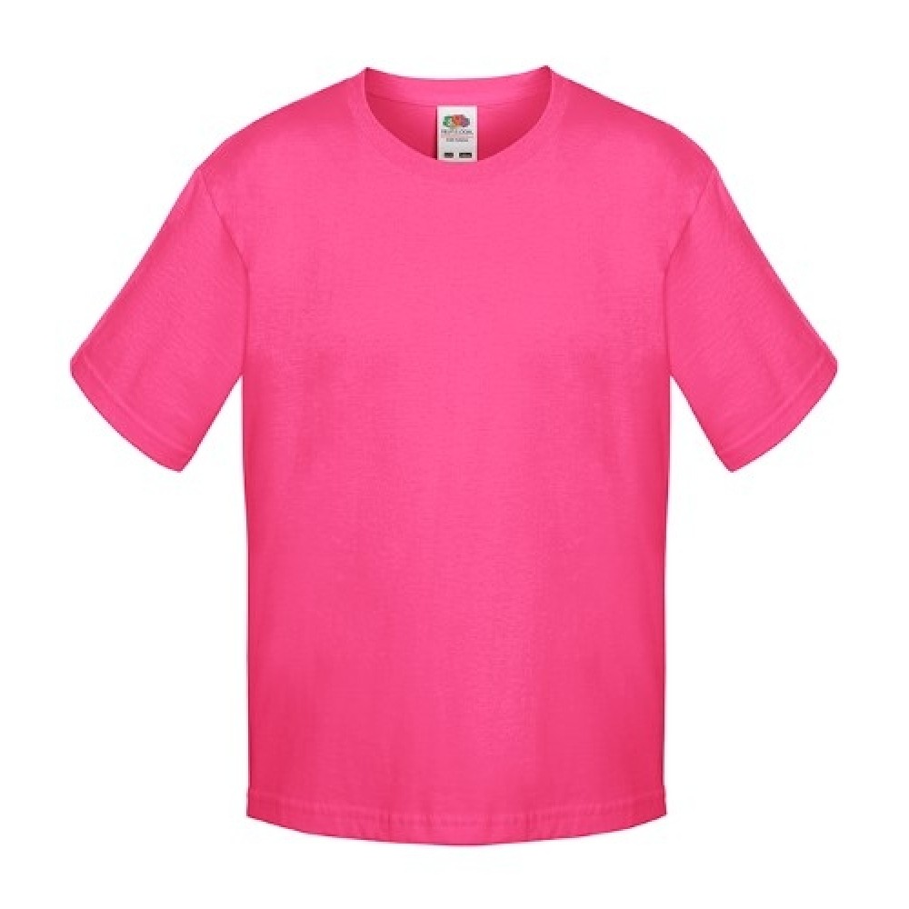 Kids T-shirt inkl. 1 side FRIT Design-Pink-01