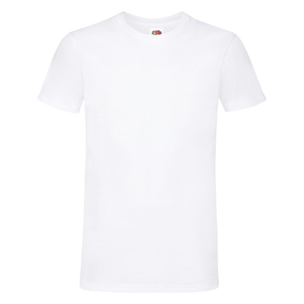 T-shirt inkl. 1 side frit design-White-30