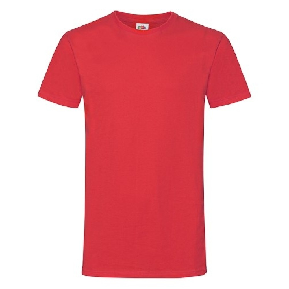 T-shirt inkl. 1 side frit design-Red-00