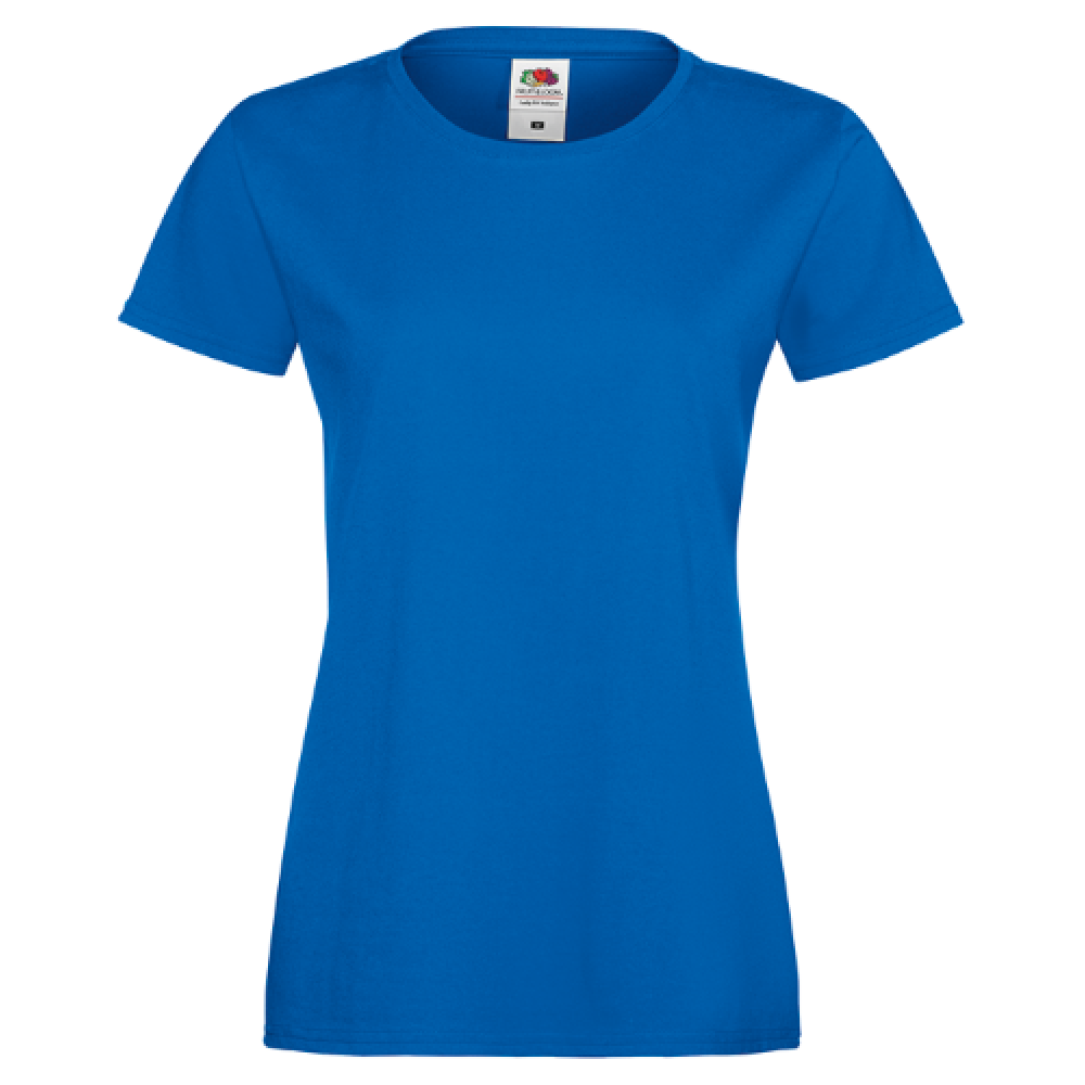 Ladies T-shirt inkl. 1 side frit design-Blue-31