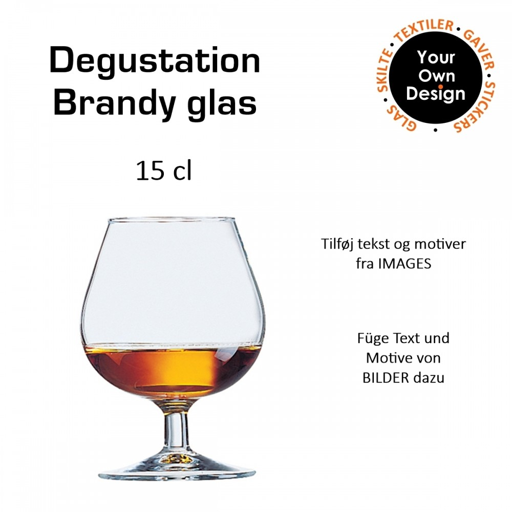 Degustation Cognac/brandy glas 15 cl-31