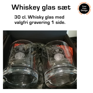 Whisky glas med gravering-20