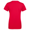 Ladies T-shirt inkl. 2 sider frit design-Red-02
