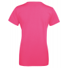 Ladies T-shirt inkl. 1 side frit design-Pink-00